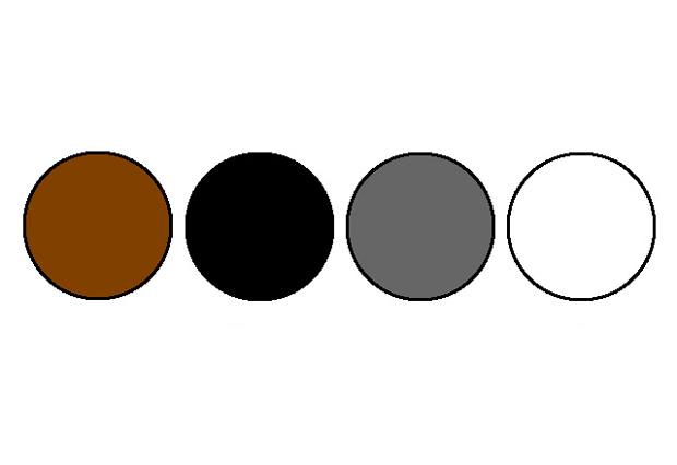 الألوان المحايدة