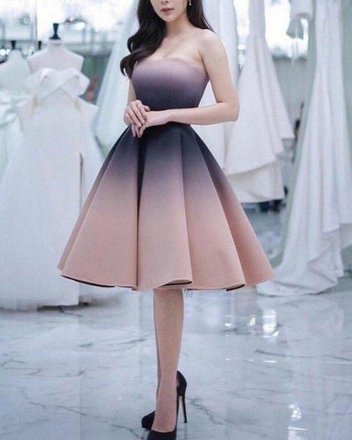 الفساتين المنفوشة اختيار النحيفات