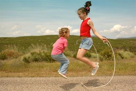 القفز بالحبل  للاطفال