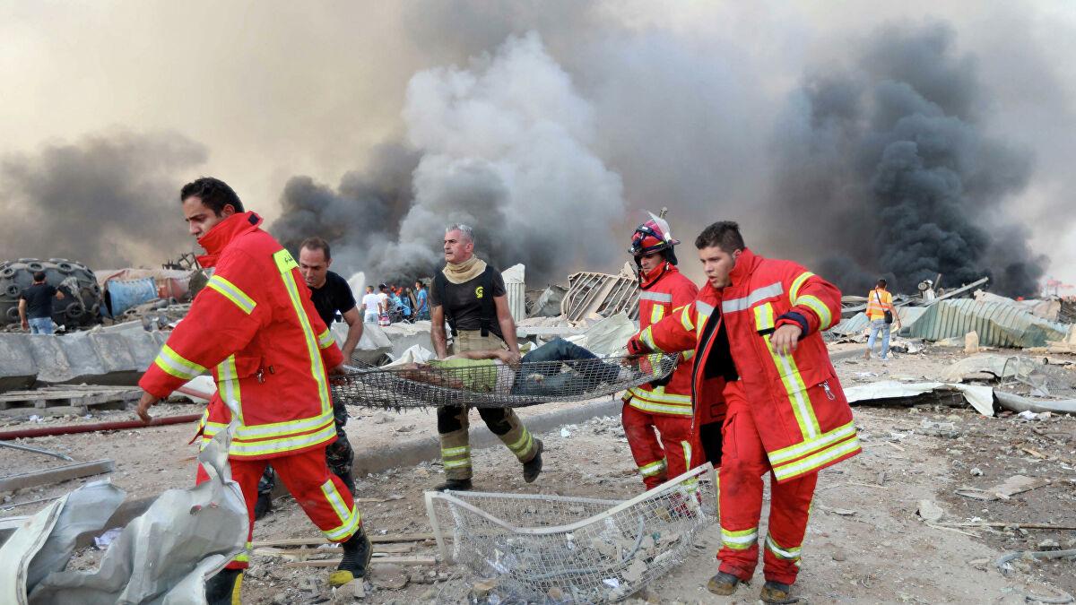 إنفجار لبنان ٤