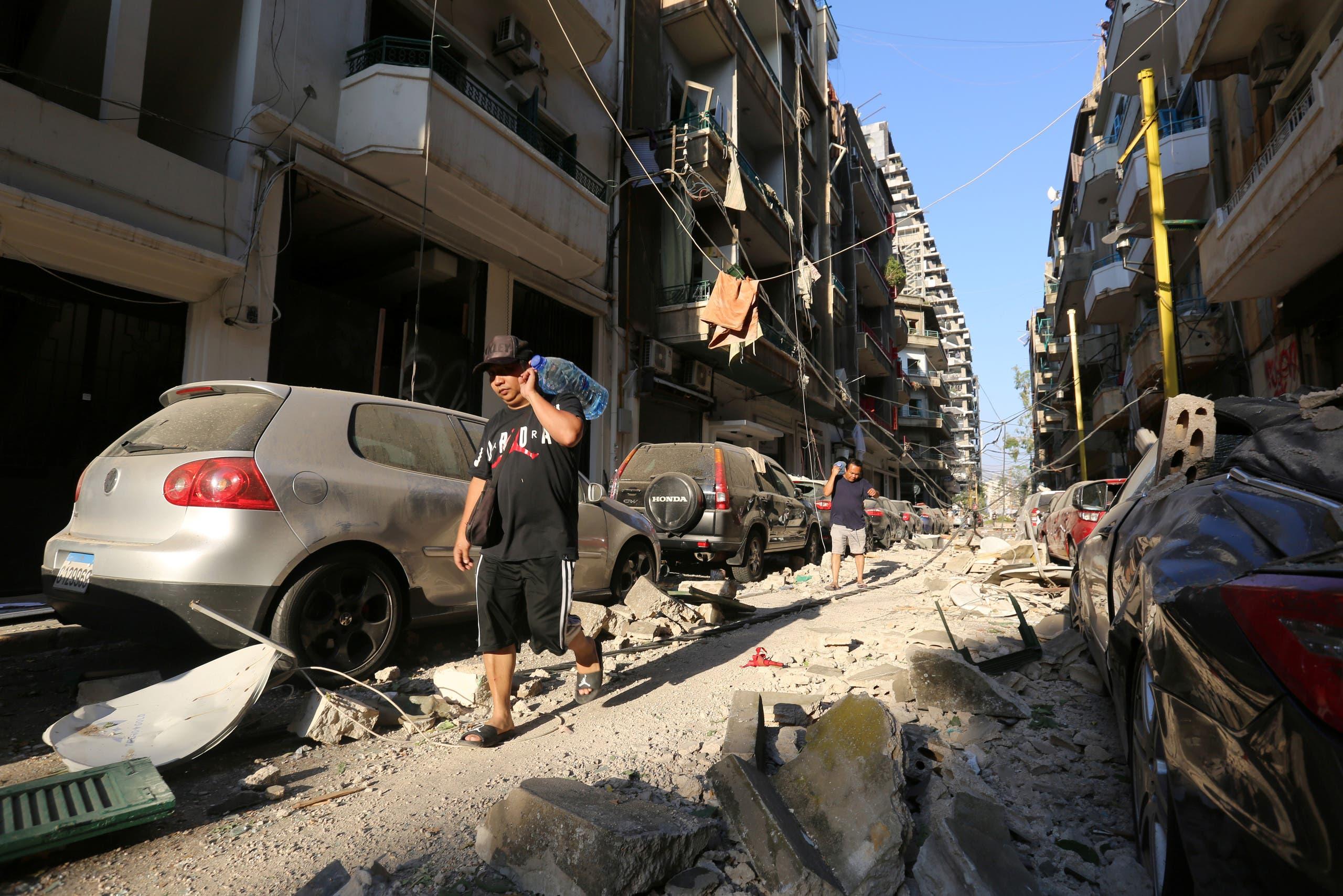 إنفجار لبنان٢
