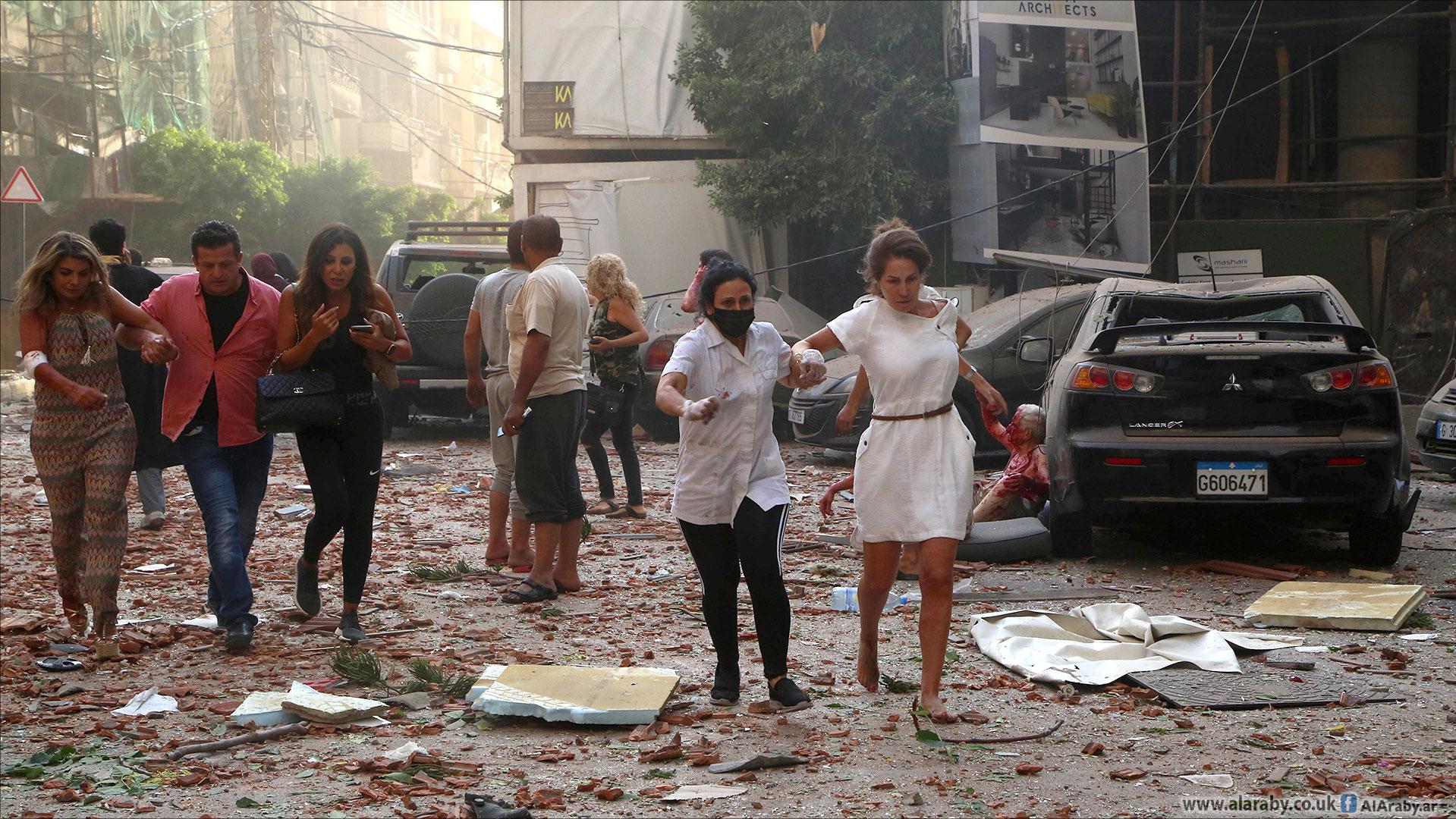 إنفجار لبنان٥