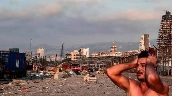 إنفجار مرفأ لبنان-1