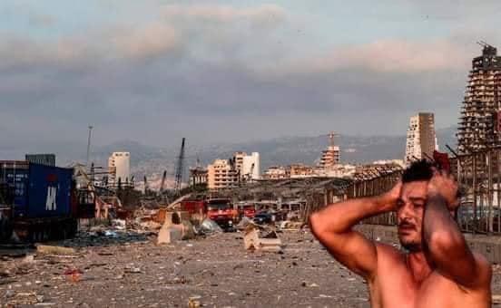 إنفجار مرفأ لبنان ٢
