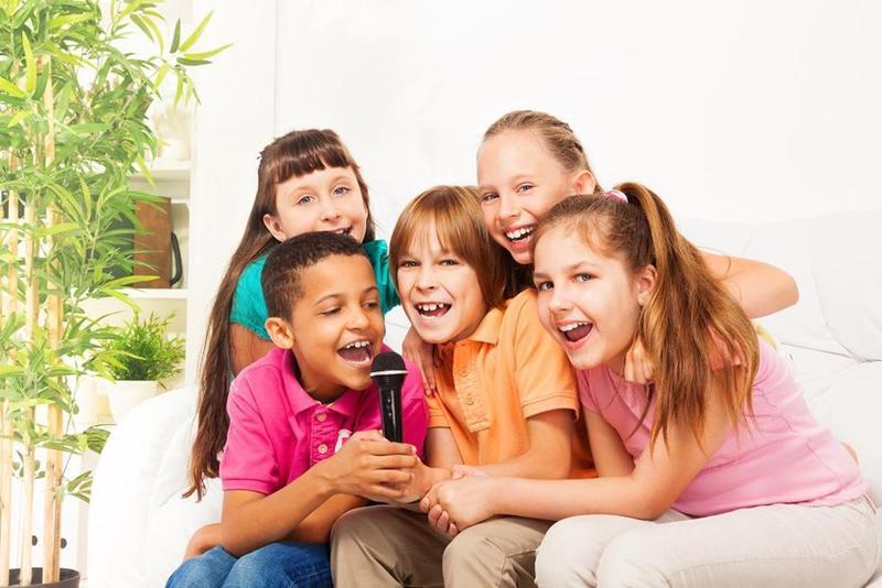 غناء الاطفال