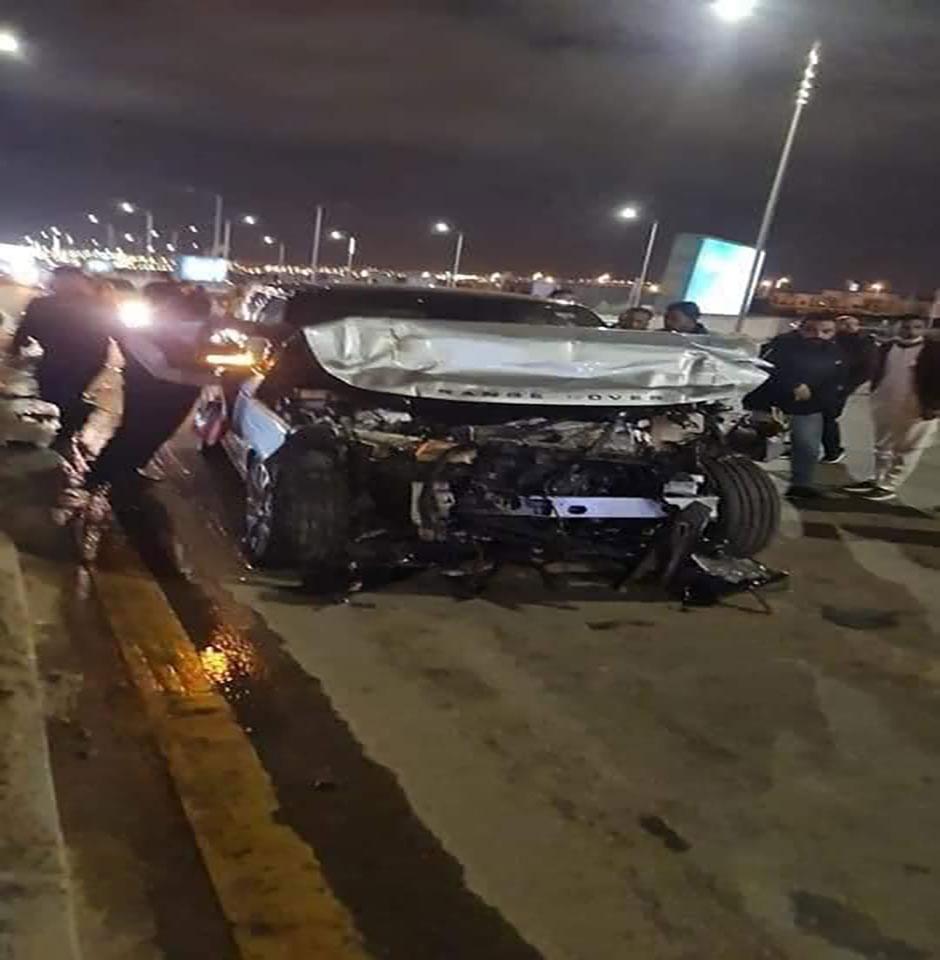 حادث عمرو اديب