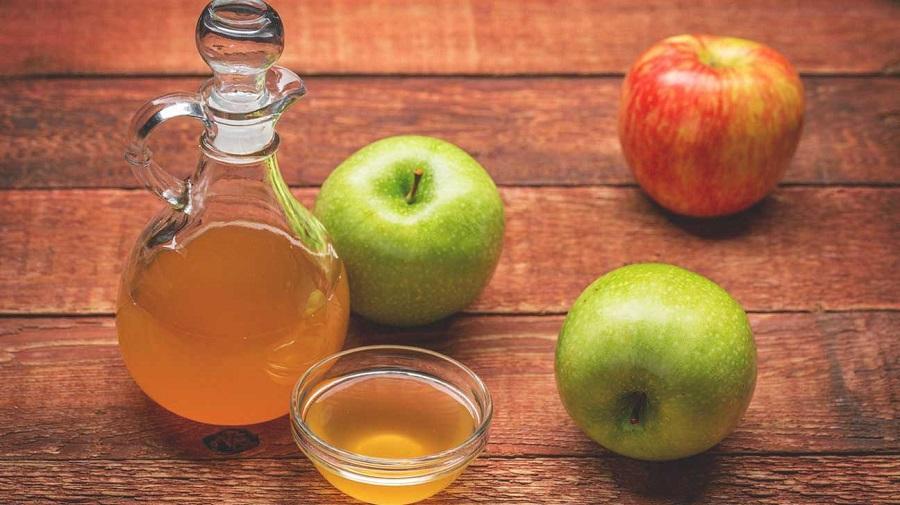 جربي خل التفاح