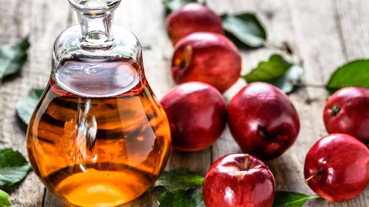 خل التفاح للتخلص من النمش