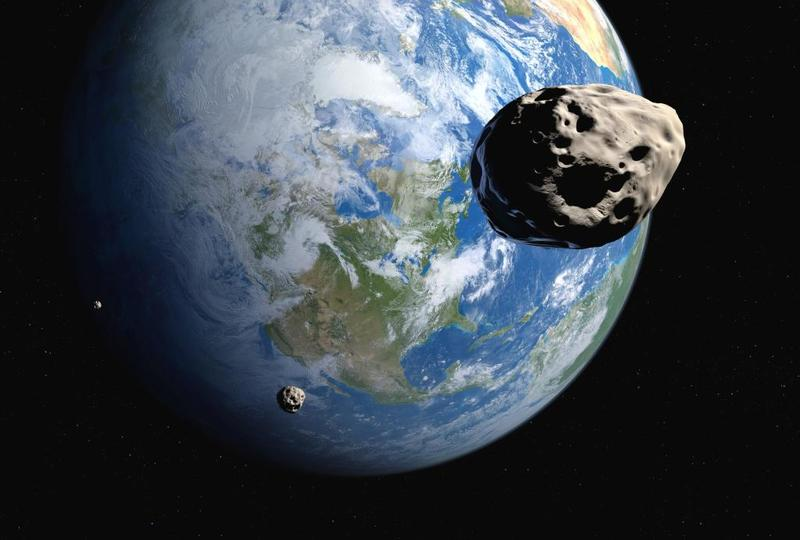 كويكب يحلق في مدار الأرض في بداية العام الجديد-1