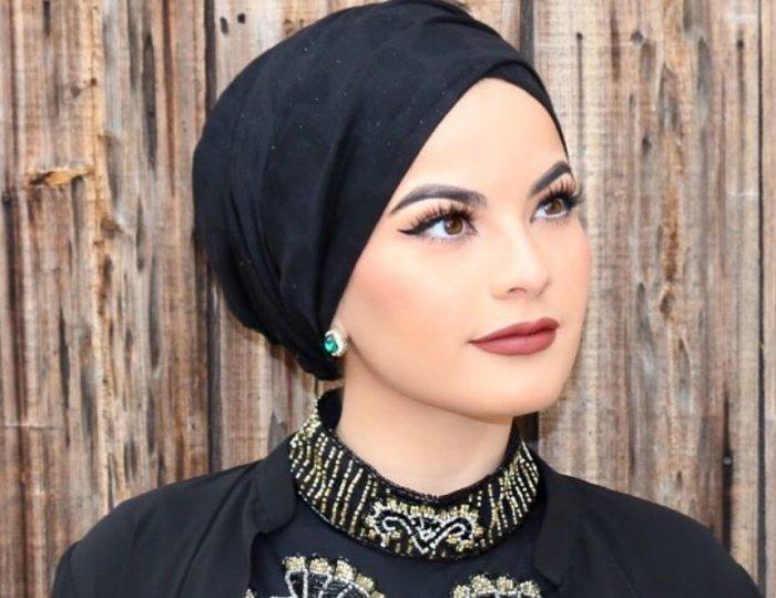 لفات حجاب للوجه المربع بطريقة التوربان