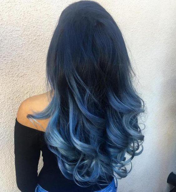 نصائح مهمة لصبغ أطراف الشعر بالأزرق-1