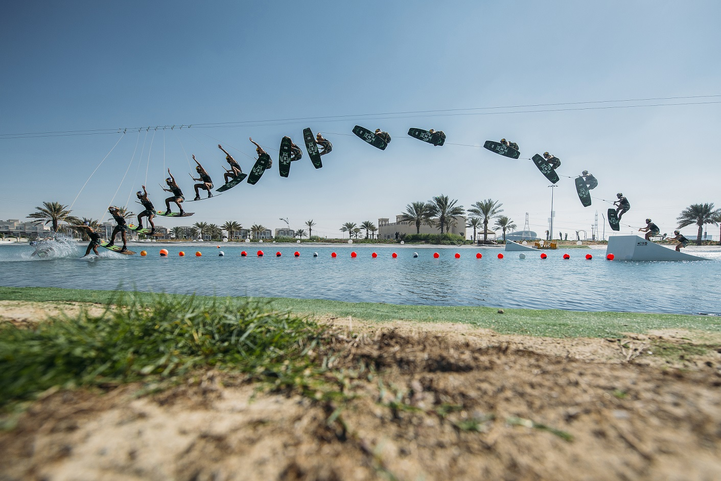 Omeir Saeed_Farthest wakeboard ramp jump (male)