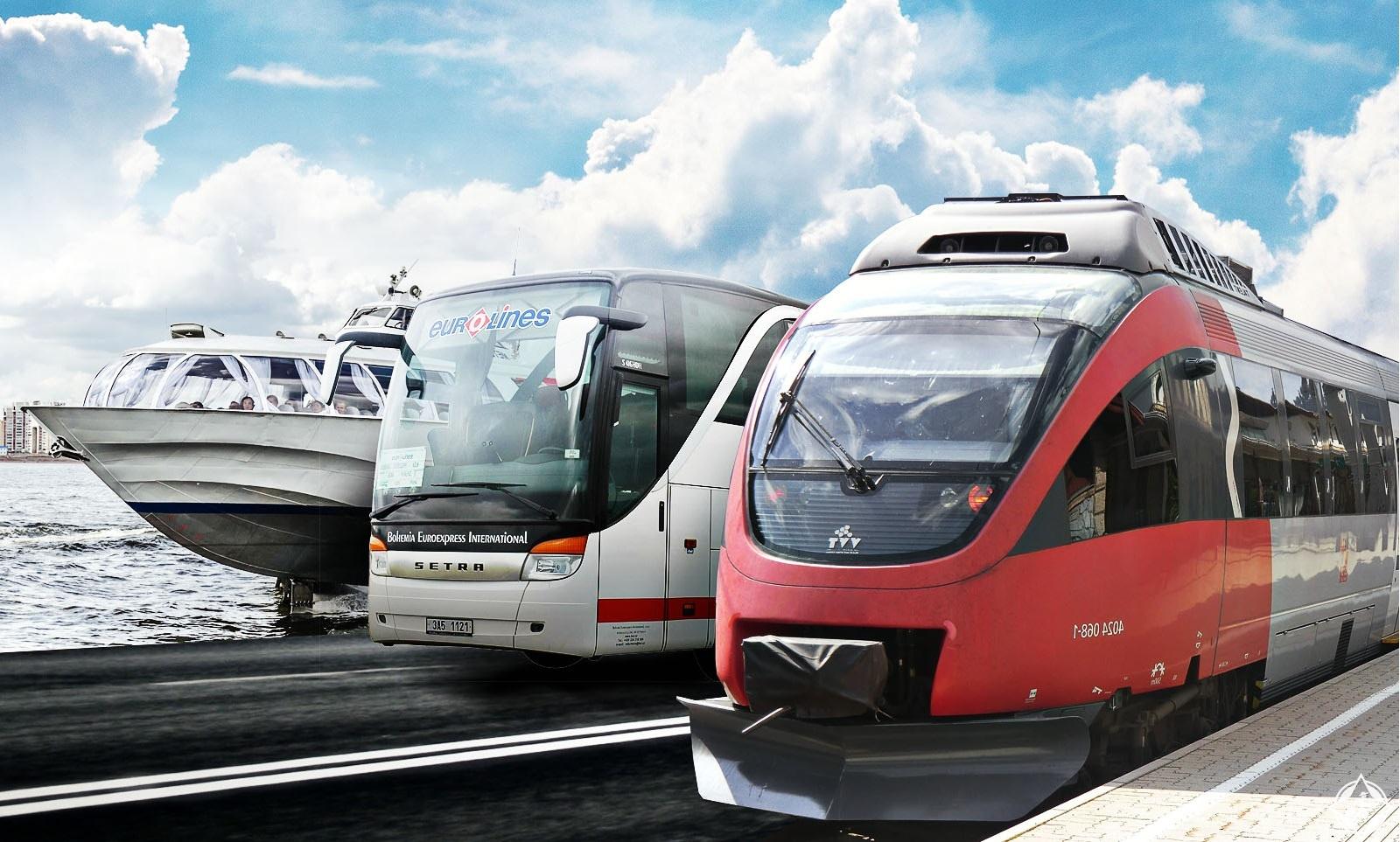 وسائل النقل العامة