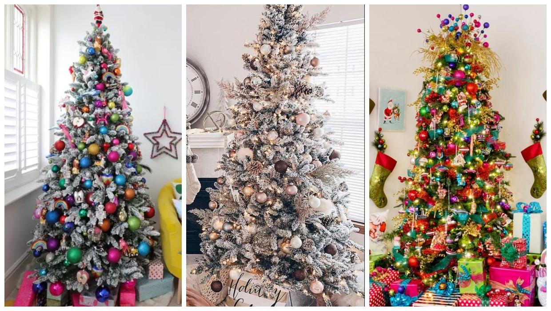 طُرق جديدة وغير تقليدية لتزيين شجرة الكريسماس - صور